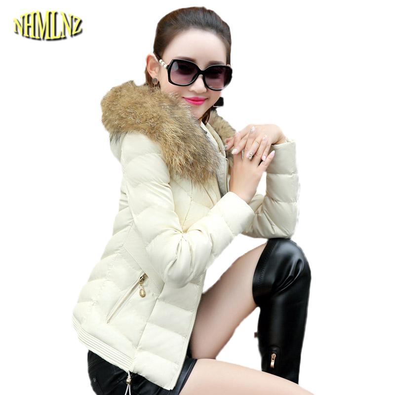 Solid color Short section Long sleeve Hooded Warm Fashion Winter Slim Women Cotton coat zipper New Winter Cotton coat WK073 2016 autumn winter women s casual fashion not as long as before and after long section side seam zipper bags seven snowflakes