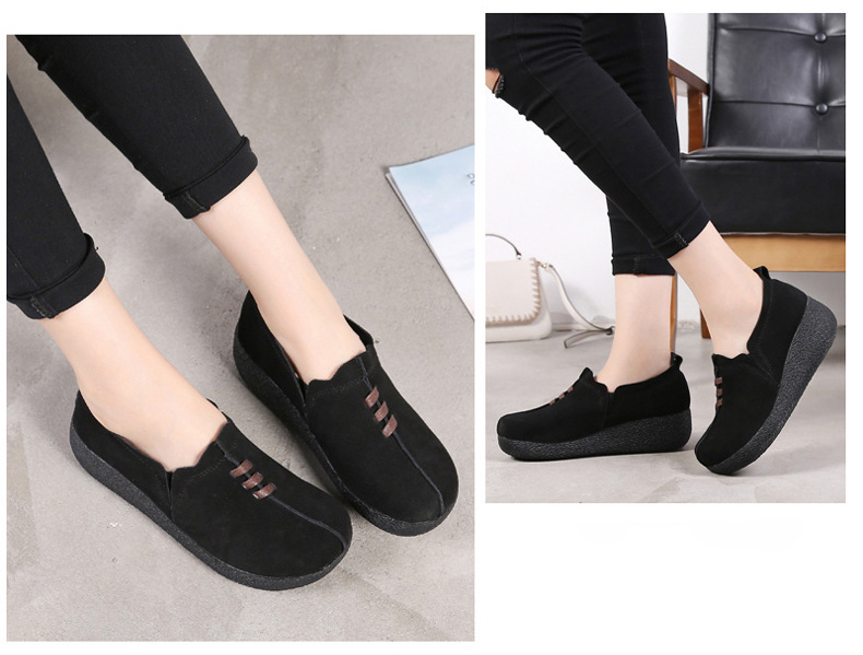 LL 3022-2019 Spring Autumn Women Wedge Shoes-15