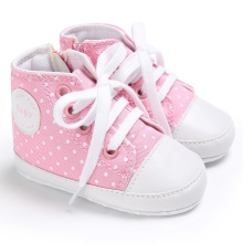 4623d53230c96b Spring Baby Girls Toddler Boy Girl Canvas Lace-up Sneakers Non-slip Soft  Fubu