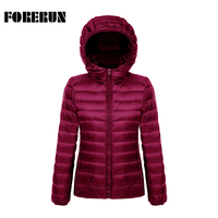2016 New Women Winter Coat With Hood Short Parkas Solid Womens Winter Jackets And Coats Ultra