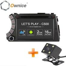 Ownice c500 4g sim lte 1024*600 android 6.0 quad core car dvd odtwarzacz samochodowy gps dla ssangyong Actyon Kyron 4G Wifi BT radio 2 GB RAM