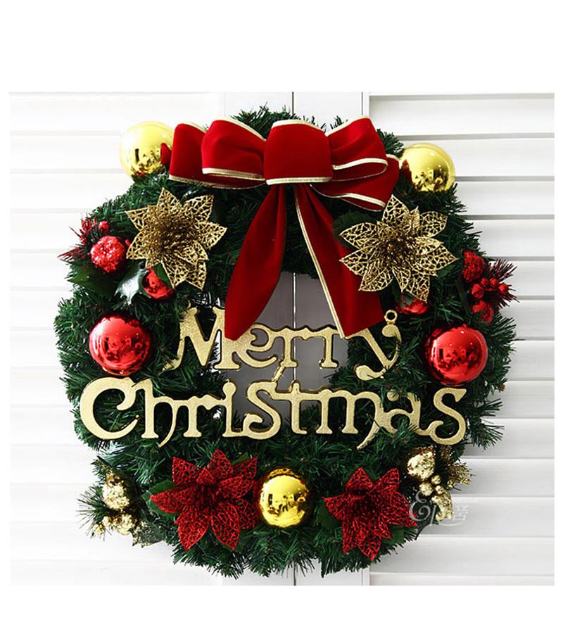 40 cm 50 cm feliz navidad guirnalda guirnalda ventana partido rbol de navidad decoraciones para
