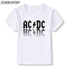 AC DC Band Rock T-shirt Kids clothes Baby