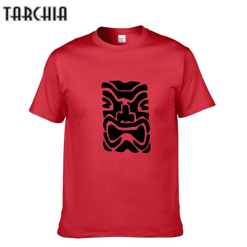 TARCHIA 100% Cotton Printed T-shirts Men Slim Casual Men's T Shirt Short Sleeve Summer 2018 Brand Tshirt Homme Tees Tops