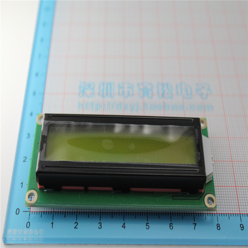 5 Pcs/lot LCD1602 LCD-1602-5V 5V Huang Lvping 1602 LCD Screen Black Font With Backlight Ic...