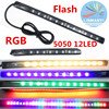 NEW 12V LED 7 Color Strip 12LED 5050 SMD Waterproof Flexible Light Led Tape RGB For