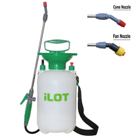 Hot Sales Spray Water Garden Pressure Sprayer Homate Heavy duty 5L/8L garden sprayer Two type of nozzles equiped FM0008