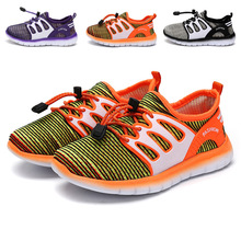 2018 Fei Zhi children's shoes sports shoes spring and summer children's sports shoes boys and girls breathable running shoes цена 2017