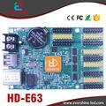 HD-E63 Сети и USB Порт 4 * HUB08 + 8 * HUB12 1024*128 Пикселей Одной и Двойной Цвет СВЕТОДИОДНЫЙ Дисплей Платы Управления