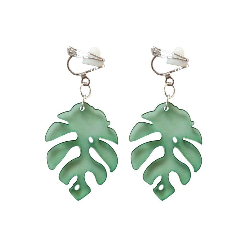 Fashion Resin Geometric Earrings Alloy Dangle Earrings Women Fine Jewelry DK
