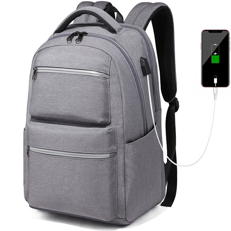 Waterproof Oxford Men backpack with USB Charging Fashion men Sport travel backpack Business Soild Men Black backpack for laptopWaterproof Oxford Men backpack with USB Charging Fashion men Sport travel backpack Business Soild Men Black backpack for laptop