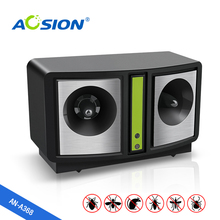 Free Shipping Aosion indoor ultrasonic mouse rat mosquito repeller Electronic rodent pest  reject mice insect repellent control