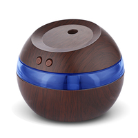 290ML USB Aromatherapy Essential Oil Diffuser Car Portable Mini Ultrasonic Cool Mist Aroma Air Humidifier For