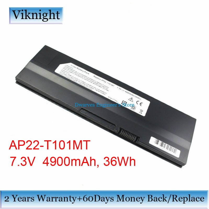 High Quality AP22-T101MT Battery For Asus EEE PC T101 T101MT Series Laptop Battery 7.3V,4900mAh Free Shipping