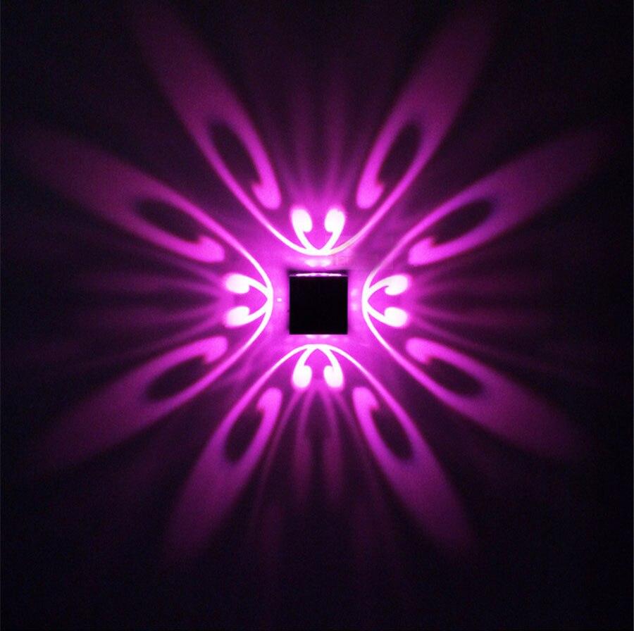 Licht & Beleuchtung Methodisch Zinuo 3 W Led Wand Lampe Schmetterling Up Down Leuchte Licht Innen Beleuchtung Foyer Flur Sofa Hintergrund Wand Lichter Ac110v 220 V Weder Zu Hart Noch Zu Weich Wandleuchten