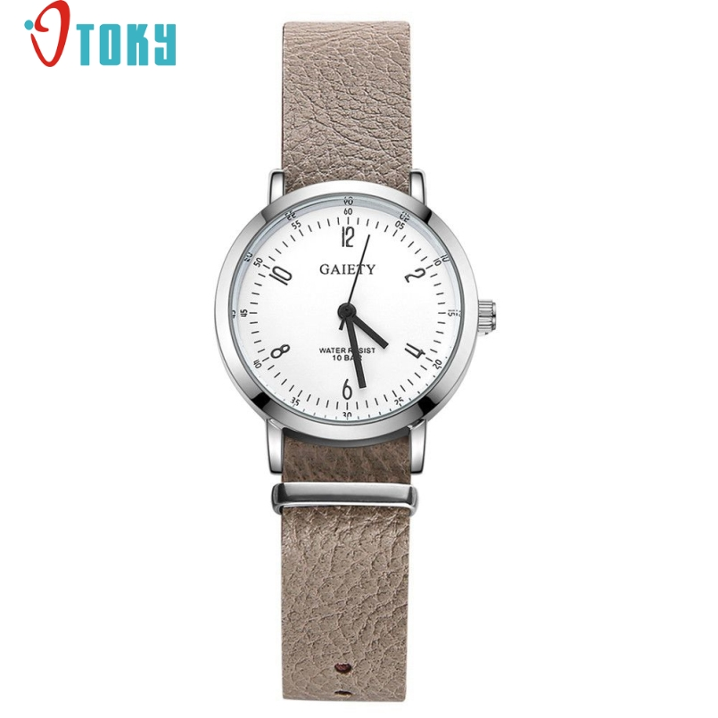 Excellent Quality Vintage Leather Bracelet Watch Casual Women WristWatch Luxury Fashion Quartz Watch Relogio Feminino Mar 24