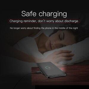 Image 3 - HOCO Qi kablosuz şarj 5V2A masaüstü kablosuz şarj pedi iPhone XR Xs Max X 8 8 artı mi mi x 2s Samsung Galaxy S9 S8