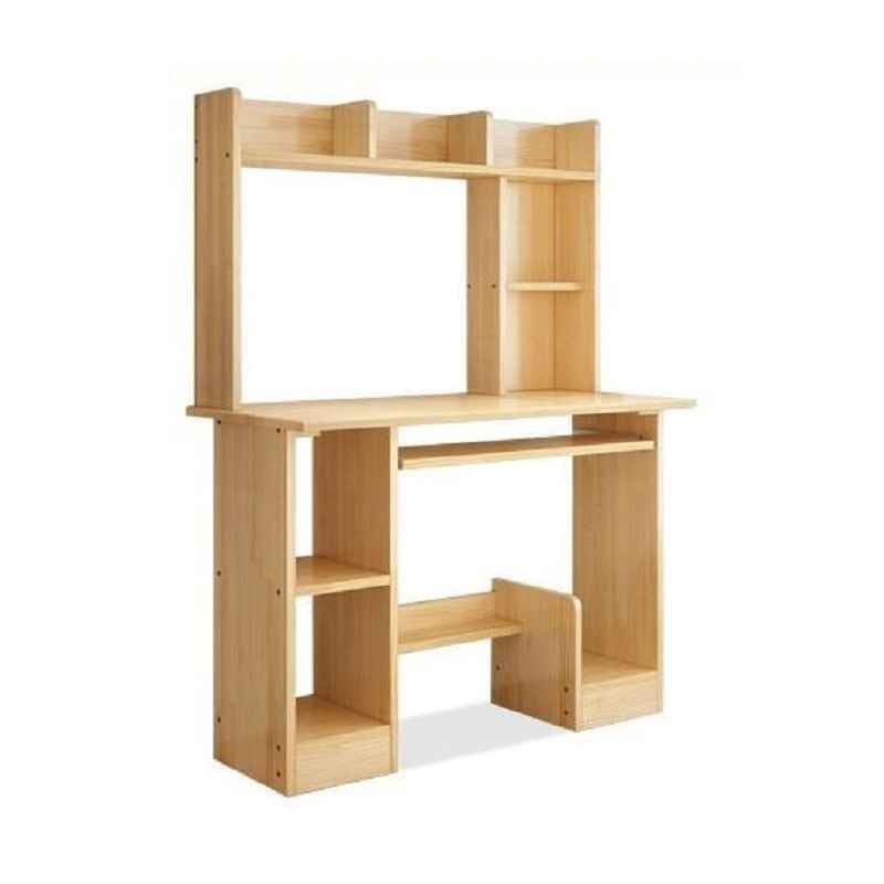 Meubles debout bureau bureau Scrivania Para Notebook Stand Shabby Chic en bois Mesa chevet ordinateur table d'ordinateur portable avec bibliothèque