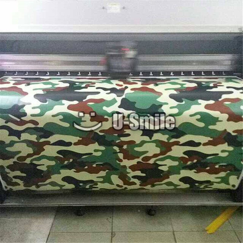 Jungle URBAN Camouflage Vinyl Wrap Jungle Urban Camo Car Vinyl Bubble Free For SUV TRUCK Jeep 30M/Roll