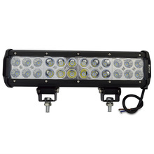 12inch Cree 72W LED Light Bar Spot Flood Combo Beam Offroad Light 12V 24V LED Work Light For ATV SUV 4WD 4X4 Boating Hunting