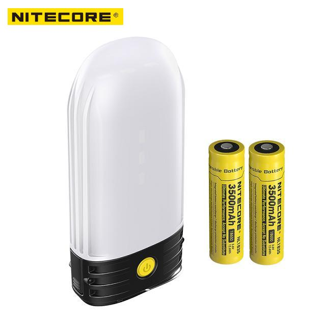 NITECORE LR50 Rechargeable Camping Lantern & Power Bank 9x High CRI LEDs 250 Lumens Uses 2x18650 or 4xCR123A batteries-in Portable Lighting Accessories from Lights & Lighting