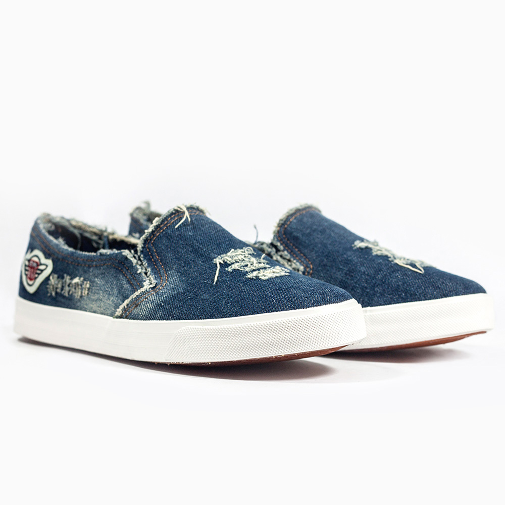 Aliexpress Com Buy 2017 Casual Shoes New Denim Cut Out Canvas