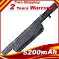 4400mAh battery for Clevo C4500BAT-6 C4500BAT 6 C4500BAT6 B4100M B4105 B5100M B5130M B7110 C4100 C4500 C4500Q C5100Q C5500Q