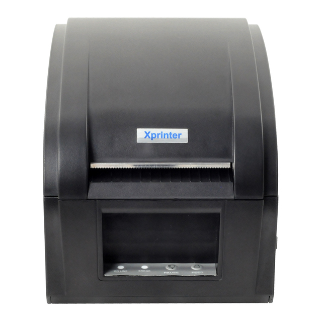 black usb port XP-360B Barcode Printer thermal barcode printer thermal label printer