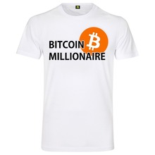 aba6626d Bitcoin Millionaire T-Shirt | Millionaire| Stock Market| Stock Exchange |  Krypto Crypto