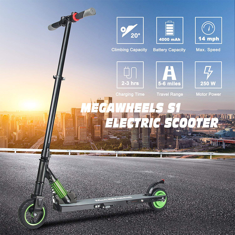 Megawheels Faltbar Elektroroller 250 w Adulte Électrique Scooter Roller Ville 2 Roues