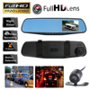 Newest Car Camera Rearview Mirror Auto Dvr Dual Lens Dash Cam Recorder Video Registrator Camcorder Full