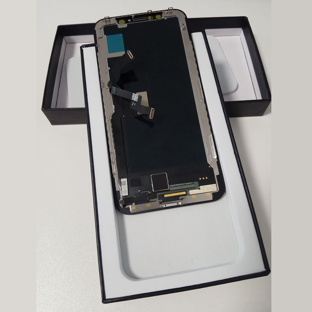 GX OLED For iPhone X LCD Display AMOLED OEM Touch Screen Digitizer Replacement Assembly Parts With frame LCD box X Repair Tools in Mobile Phone LCD Screens from Cellphones Telecommunications