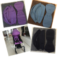 Two pieces a sets of Baby stroller car-covers pram seat cushion and Seat Pad  SunShade strollers cover Carriages Accessories