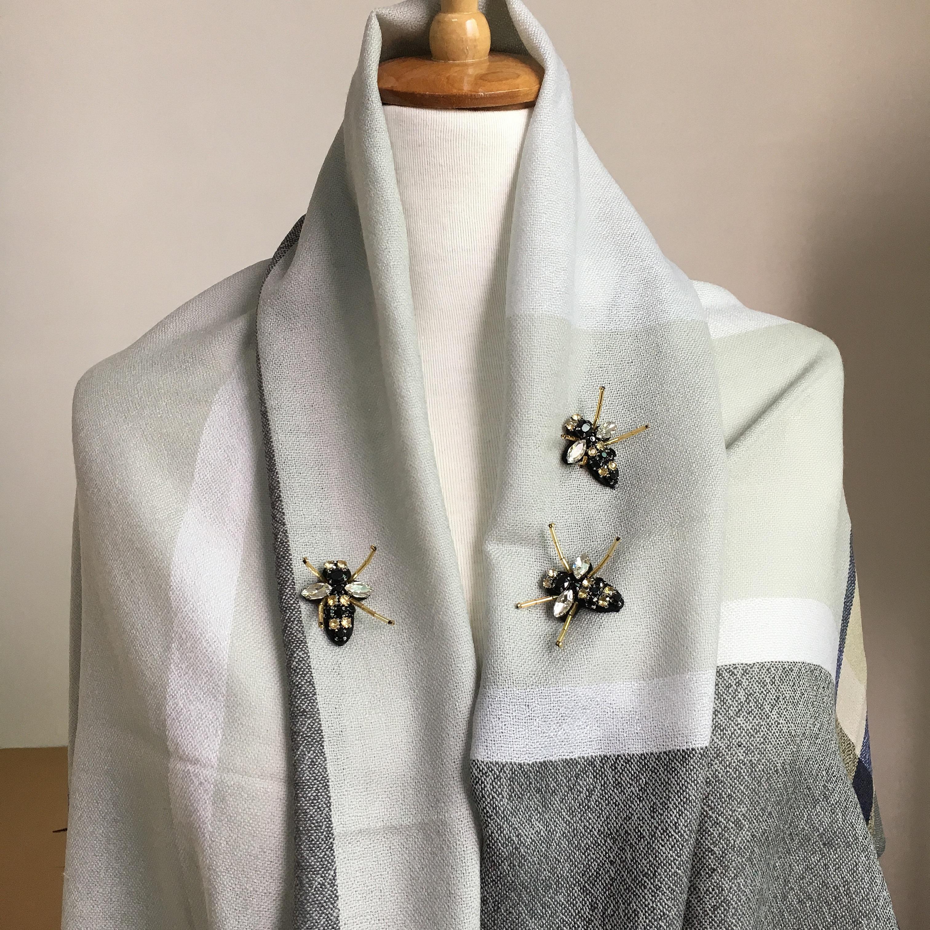20pc Sy på Beaded Patch Crystal Bee Applique Patches För Klädskor - Konst, hantverk och sömnad - Foto 2