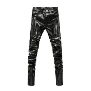 Pants Clothing Male Men's Slim Personality New-Arrived