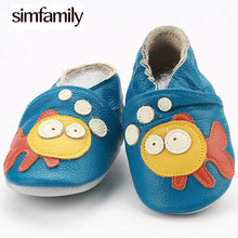 [simfamily] Fashion New Autumn Winter Baby Shoes Girls Boy First Walkers Newborn Shoes Shoes Genuine Leather First Walkers cheap CN(Origin) PATCH All seasons Elastic band patchwork Unisex Fits true to size take your normal size Mixed Colors