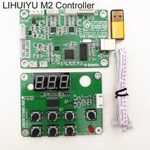 LIHUIYU M2 Nano Lazer Denetleyici Ana Ana Kurulu Anne Kurulu Kontrol Paneli Dongle B USB kablosu için Kullanılan Co2 Oyma Makinesi