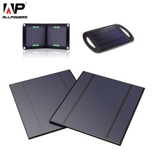 ALLPOWERS Polycrystalline Solar Panel Solar Cell 2pcs Pack 2.5W 5V 500mA for DIY Solar Phone Charger.