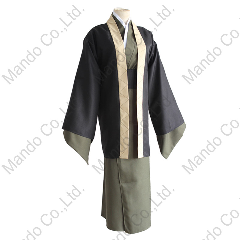 Anime Bungo Stray Dogs Fukuzawa Yukichi Cosplay Costume Mens Japanese Kendo Kimono Uniform Halloween Cosplay Outfit contemporary modern japanese american style triangle kitchen light house lighting led ceiling lamp for teens bedroom dining room
