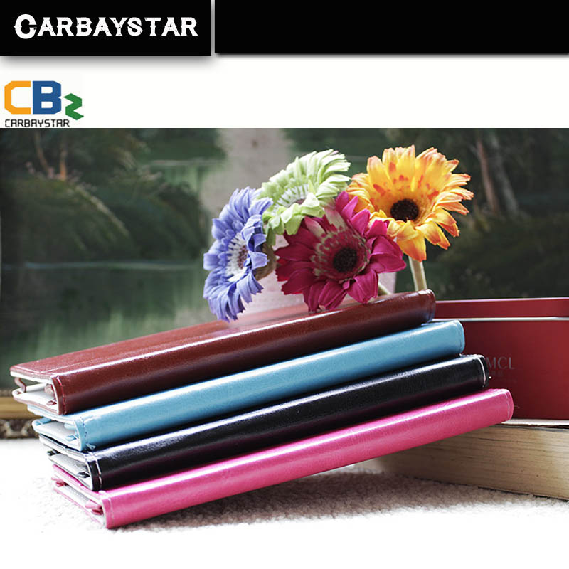 CARBAYSTAR 7 inch tablet case pu Tablets 7 inch T7 Black Brown Pink Blue color