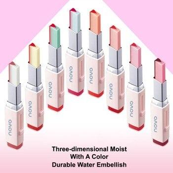Natural Gradient Lip Lip stick Makeup Two Color Moisturzing NourishingTint Lip Stick Long Lasting Waterproof Lip Gloss W1 Lip Gloss