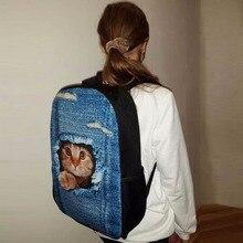 FORUDESIGNS Cartoon Backpack For Teen Girls Children School Bag Kids Casual Boys Book Bags Student Mochila Escolar