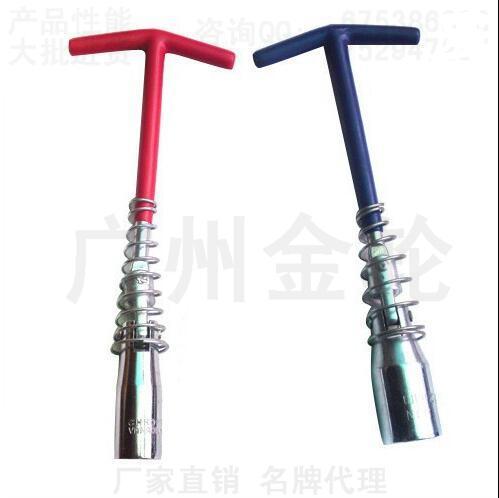 T-tipo spark plug spark plug wrench tipo universal removível manga spark plug ferramenta 16mm/21mm