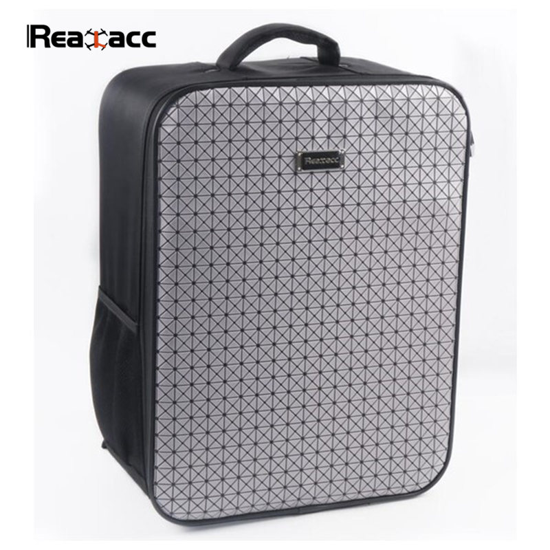 Realacc Backpack Carrying Case Bag Suitcase For Xiaomi Mi Drone RC Quadcopter FPV Spare Part Accessories original realacc waterproof portable storage box carrying case bag suitcase for zerotech dobby rc quadcopter black