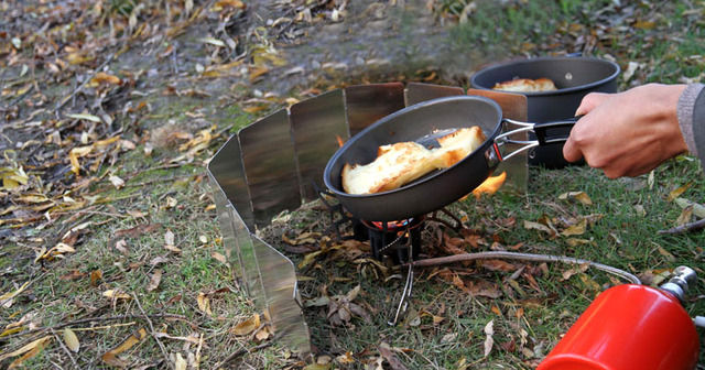 גזייה לטיגון ובישול למחנאות 4