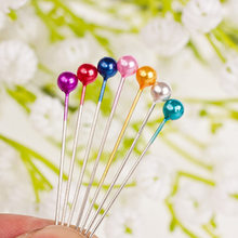 40pcs /Plate Sale Hair Styling Tools Mixed color Hair Pins fixed Hairnets Foundation for Hand Making Lace Front Human Hair Wigs(China)