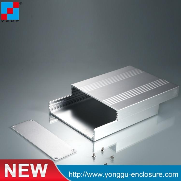 168*54-120/200 mm (W-H-L) aluminum PCB box aluminum extruded electronics enclosure matel housing DIY 215 52 263 mm w h l aluminum extruded enclosures housing project box case