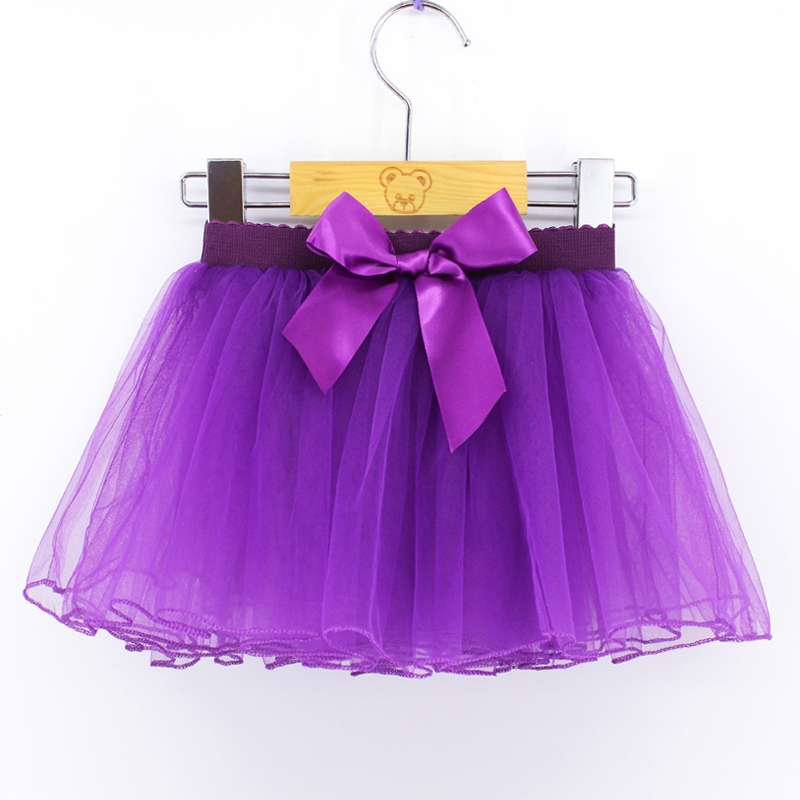 Wholesale Girls Ballet Tutu Skirt Pink White Black Baby Kids Fluffy Tulle Skirt Elastic Band Ballet Leotard Skirt