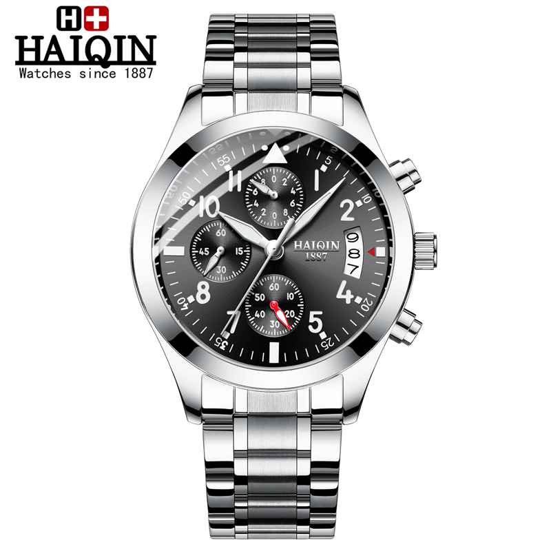 HAIQIN Mens Watches Quartz Wristwatch Mens Watches
