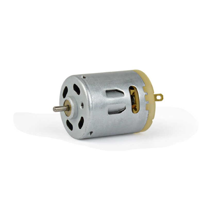 Aiyima RS-365 высокоскоростной карбоновый щеточный мотор постоянного тока 3-6 в 4500-9000 об/мин для волос сушилка горячего воздуха пистолет аксессуары инструменты DIY часть